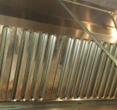 Le nettoyage des hottes de cuisine